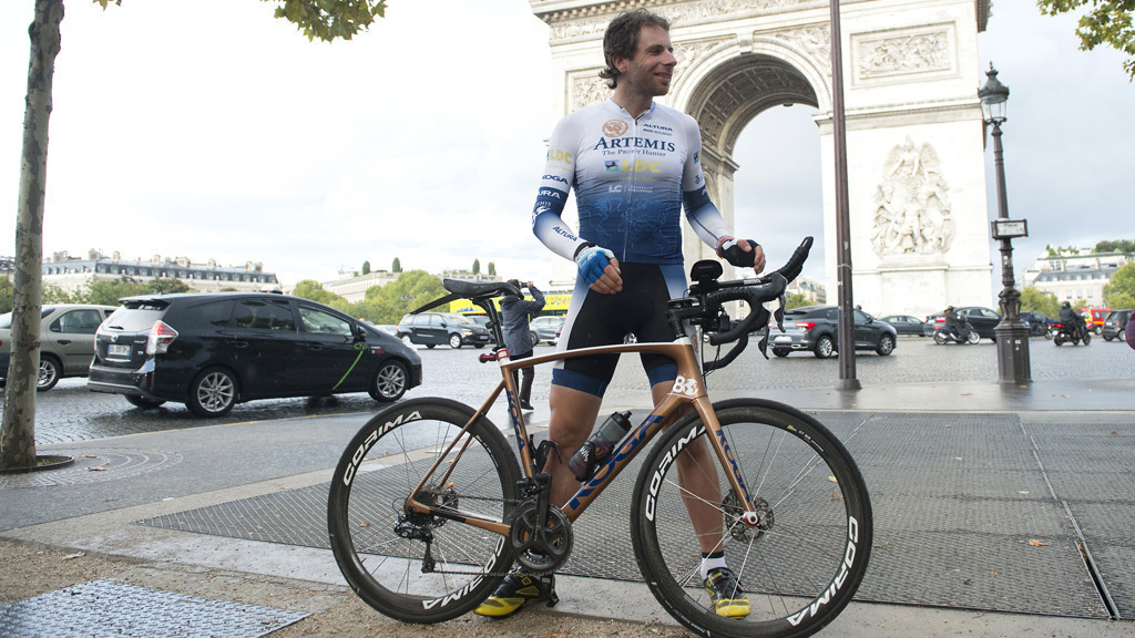 Mark Beaumont Weltrekord