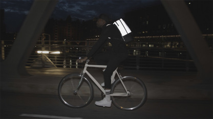 The Luminite Bag bei Nacht